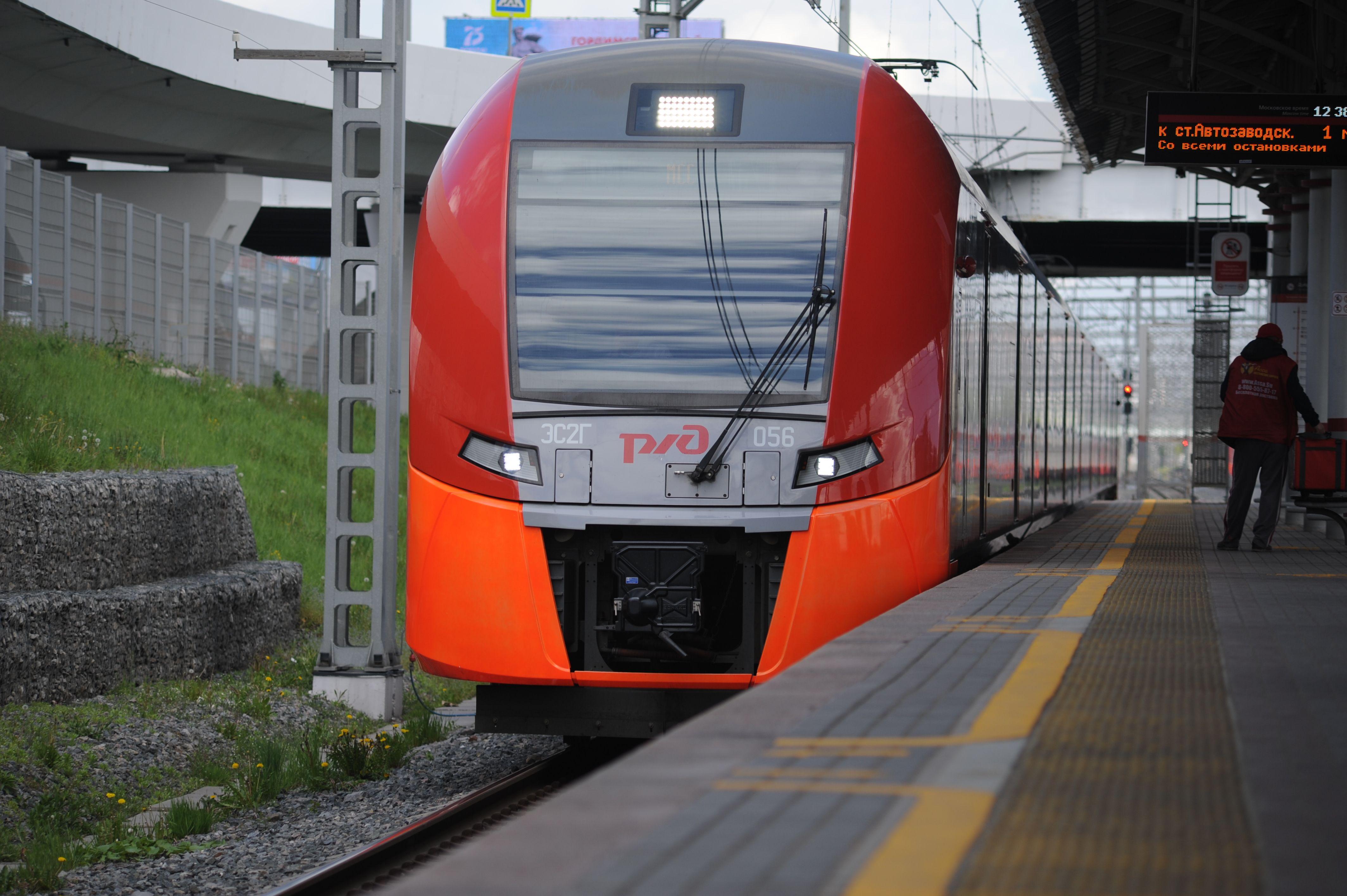 Более 40 миллионов пассажиров проехали на «Ласточках» с начала года