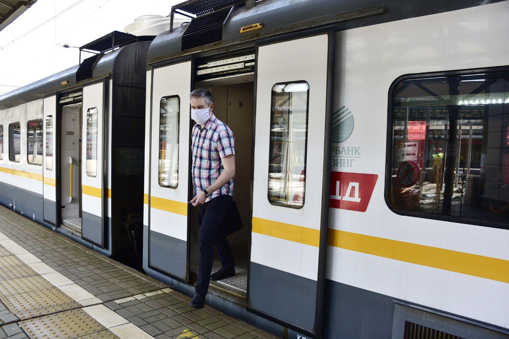 Поток пассажиров МЦД увеличился почти на 35 процентов