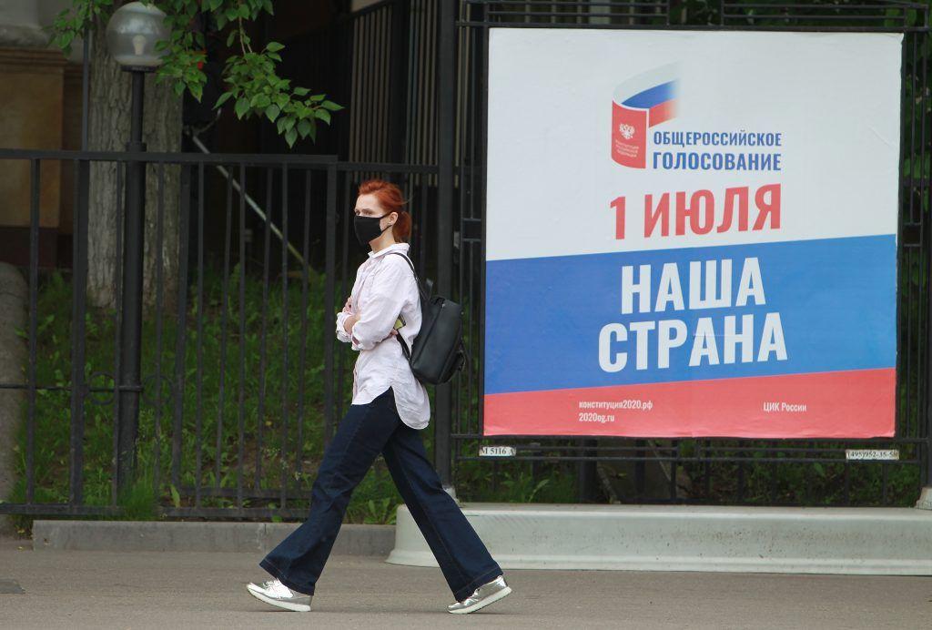 На участках для голосования в Москве обеспечат санитарную безопасность. Фото: Наталия Нечаева, «Вечерняя Москва»