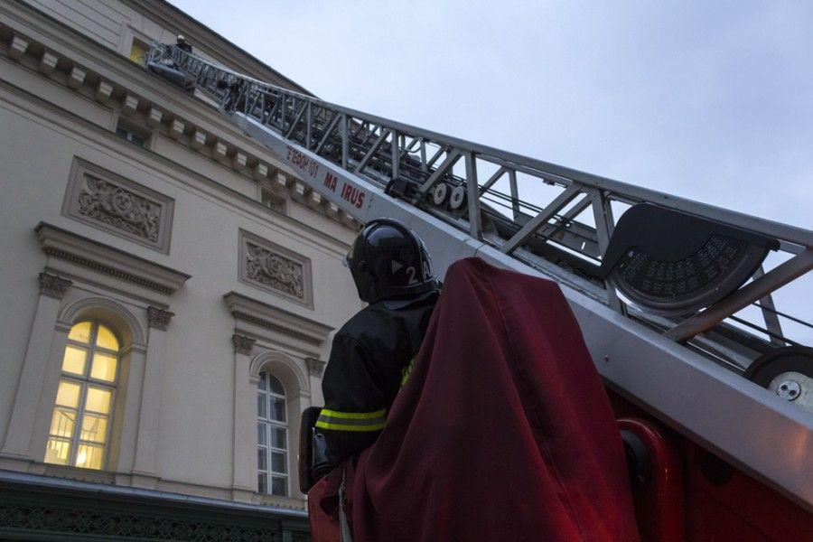 86-й пожарной части по охране Большого театра исполнилось 85 лет