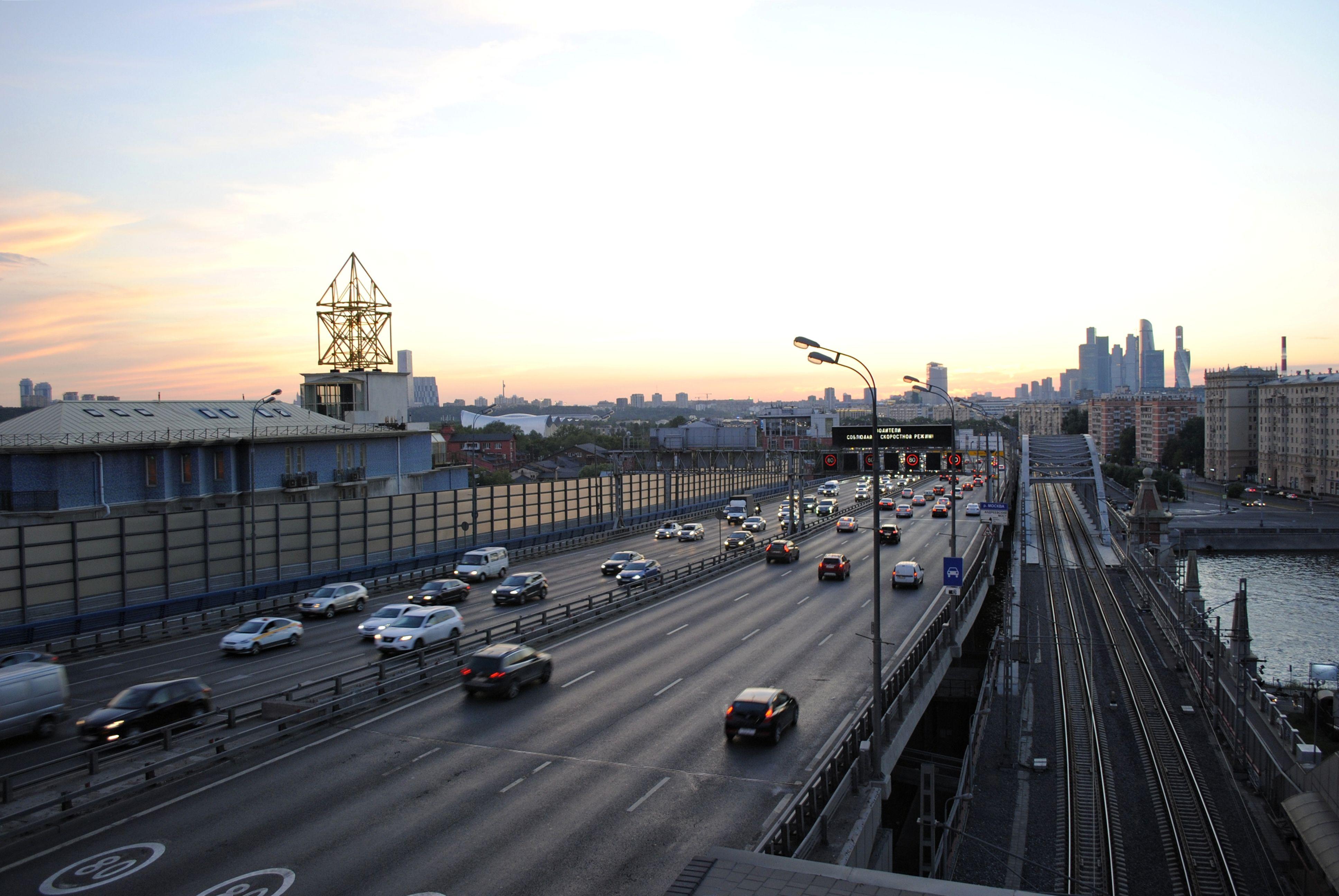 Разметку на Третьем транспортном кольце изменят в Москве