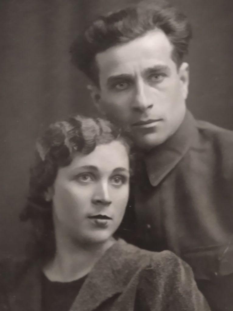 Дмитрий и Саша Балабан, 1940 год. Фото из личного архива Лилии Козловой