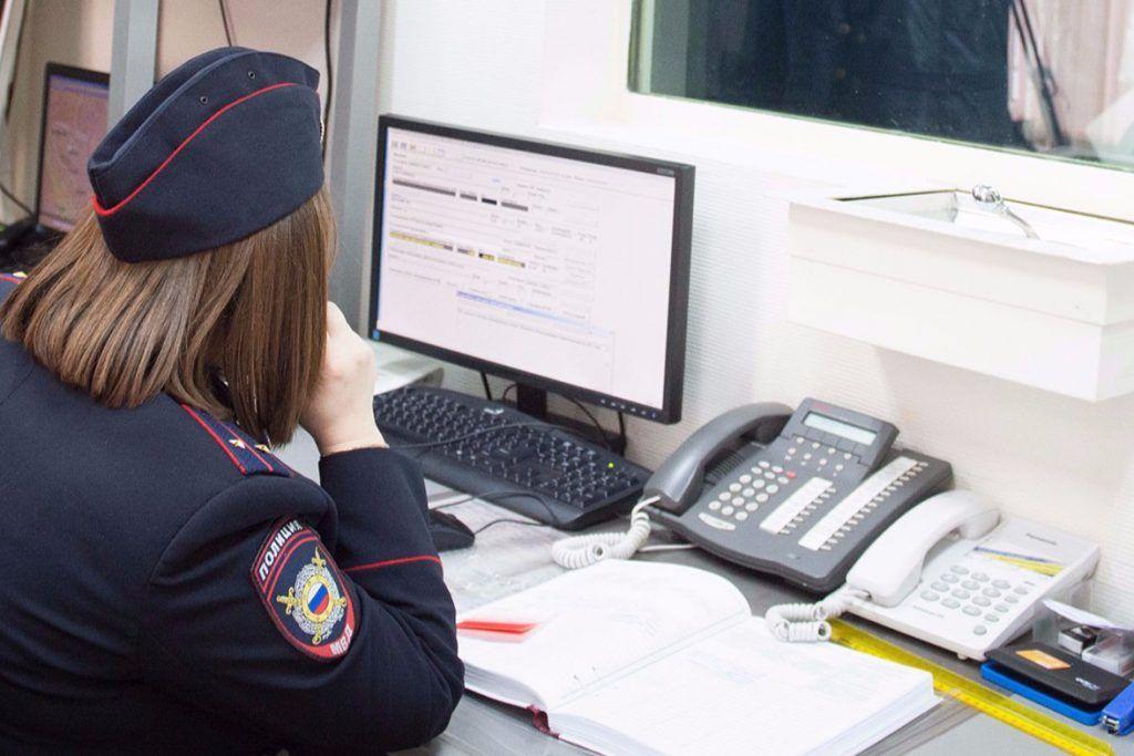 Полицейские УВД по ЮАО задержали подозреваемого в ложном сообщении о противоправном деянии. Фото: сайт мэра Москвы