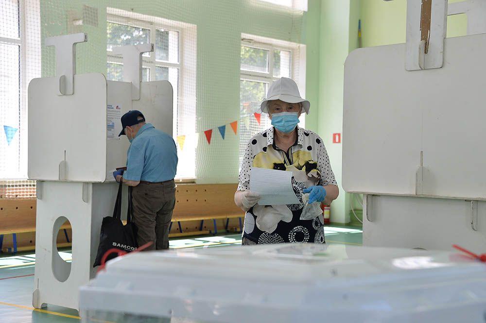 Штаб: Около 200 тыс человек проголосовали онлайн в минувшие выходные