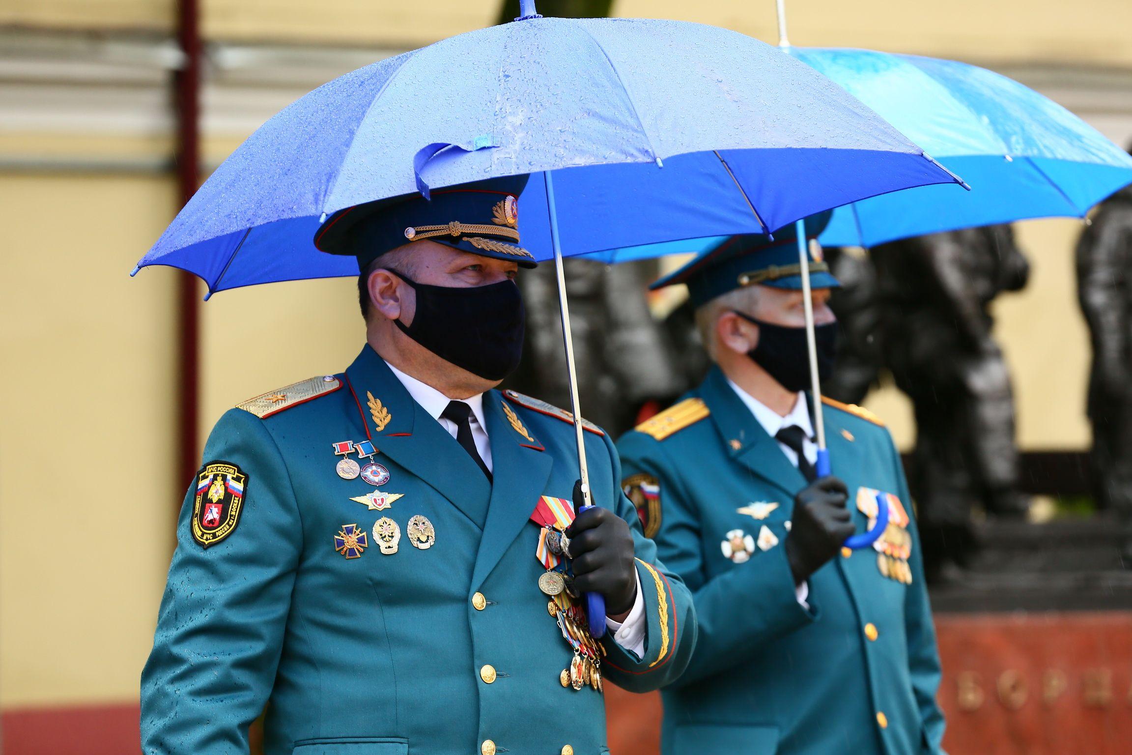 216 лет московские пожарные укрощают огонь!