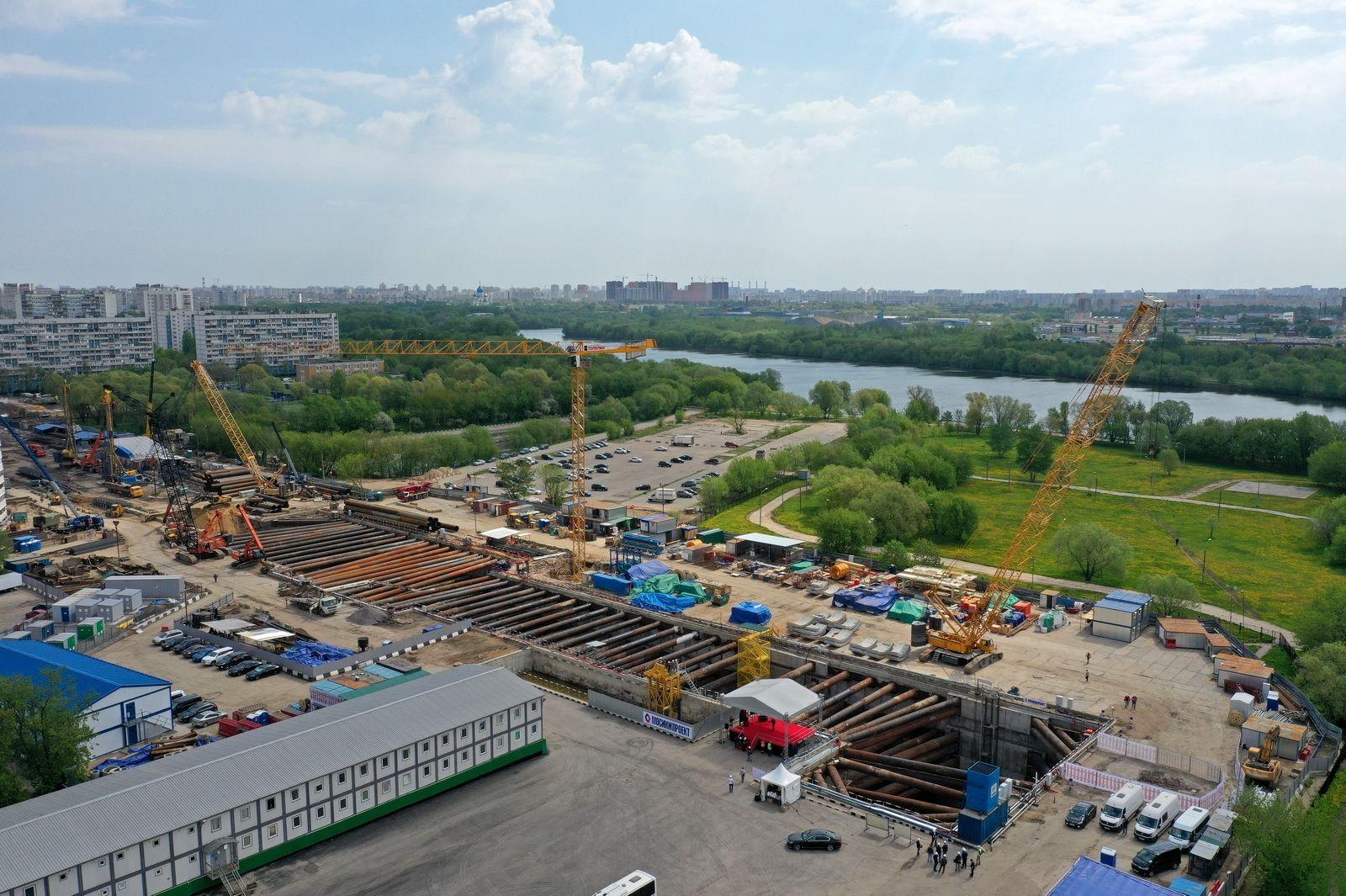 Открытие «Кленового бульвара» значительно сократит путь до «Коломенского»