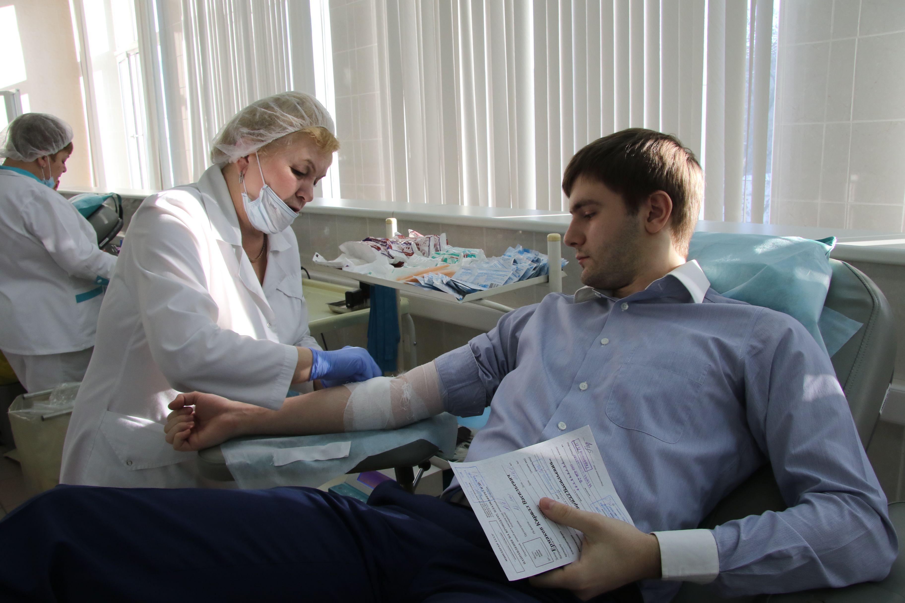 Департамент здравоохранения Москвы запустил тест на возможность стать донором