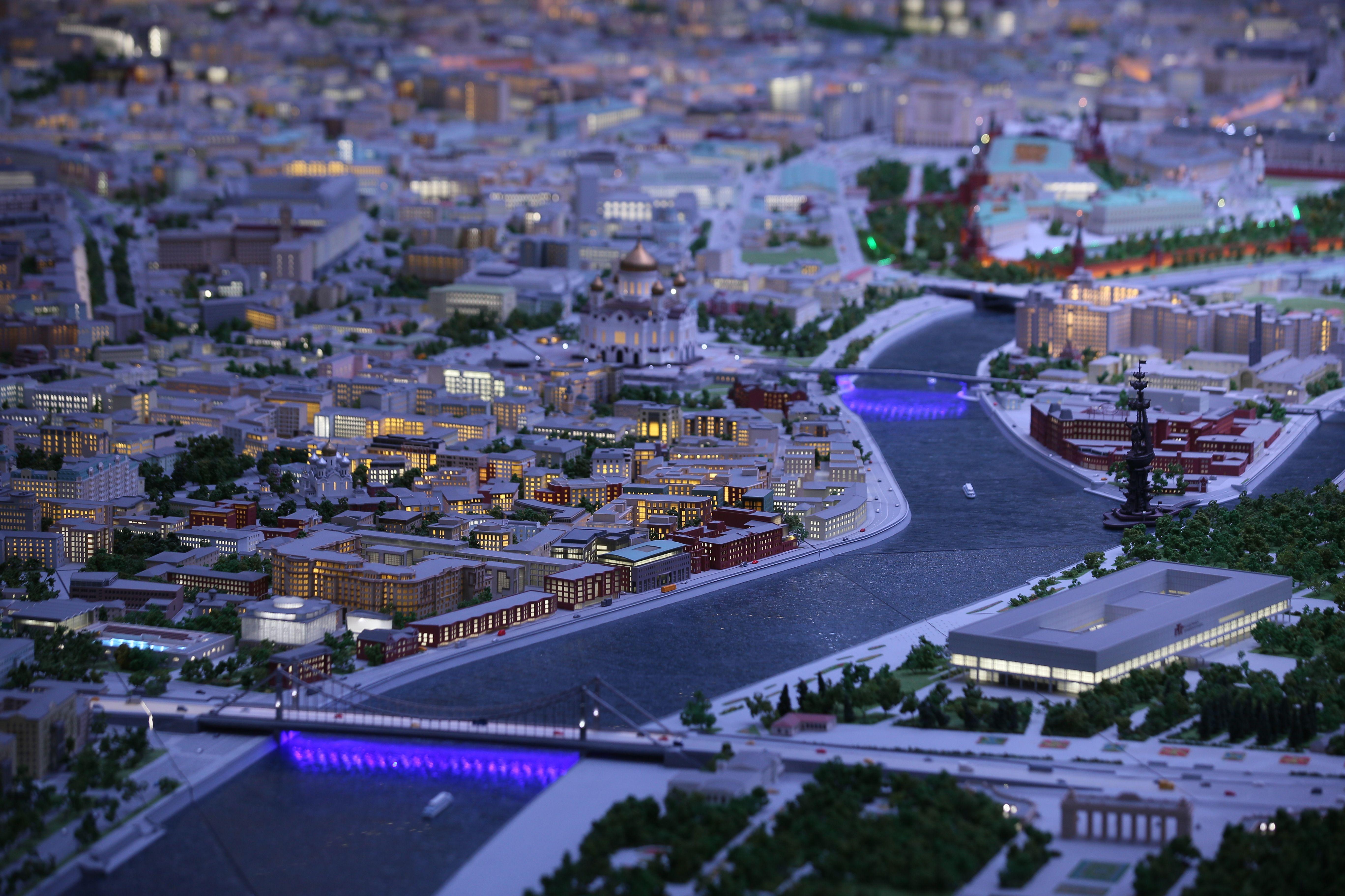 Интерактивный «Макет Москвы» вновь принимает посетителей