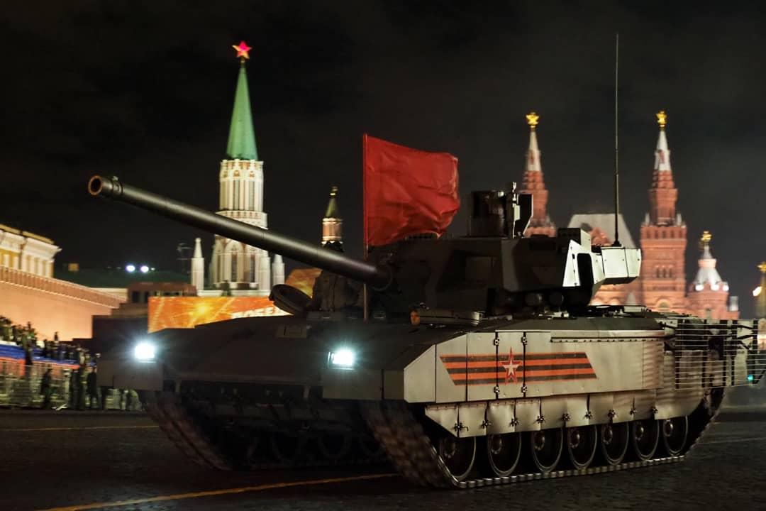 В Москве перенесли ночную репетицию Парада Победы