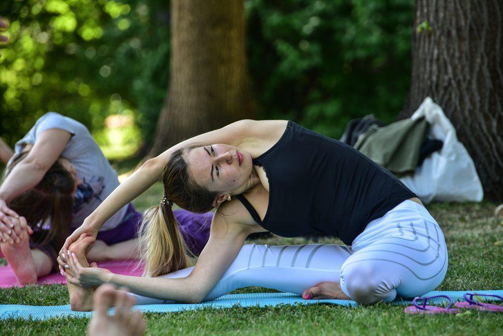 Спортивные тренировки стартуют в парке «Садовники». Фото: Пелагия Замятина, «Вечерняя Москва»