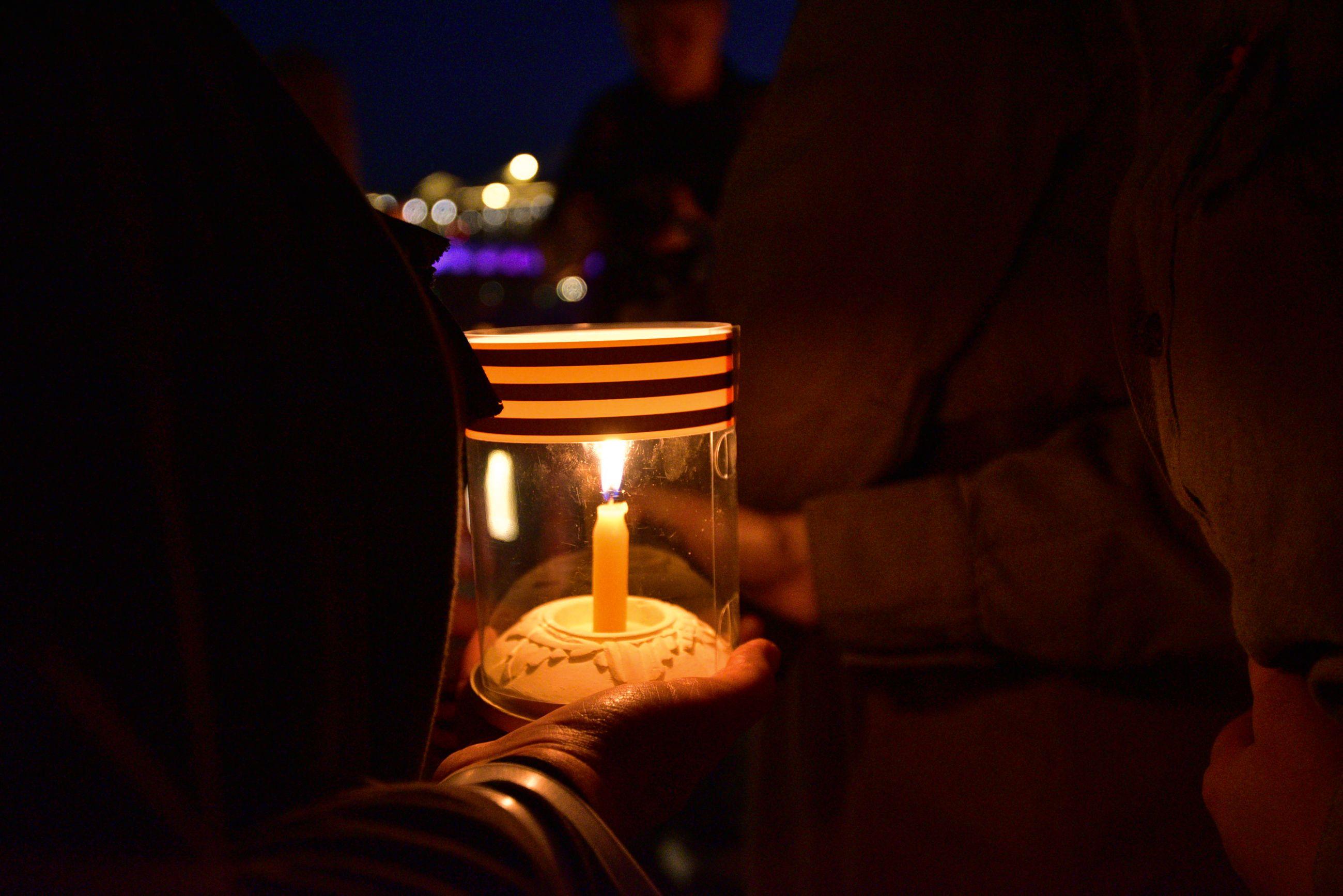 Виртуальные свечи зажгут жители юга в День памяти и скорби