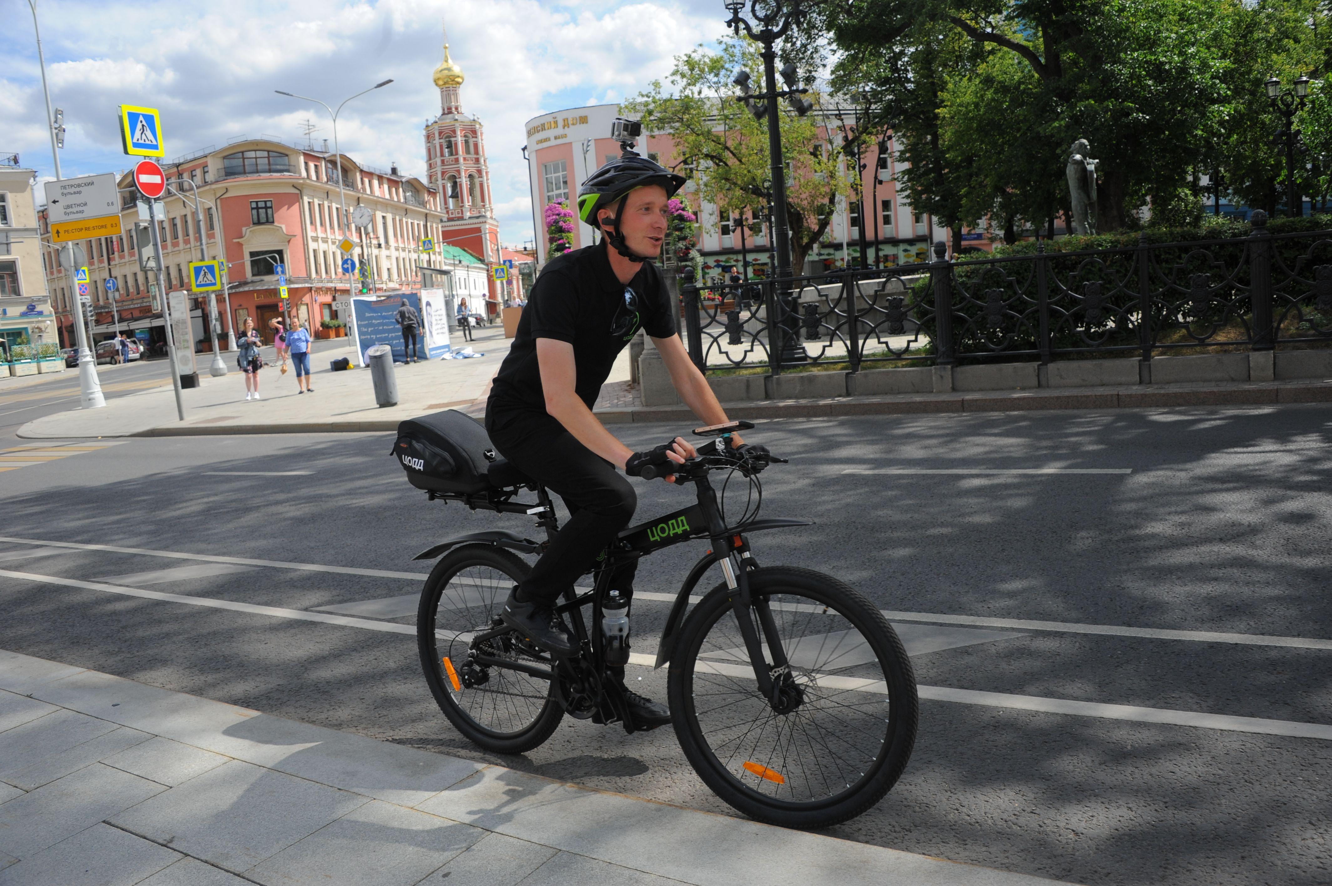 Велопатруль появится на московских улицах в июне