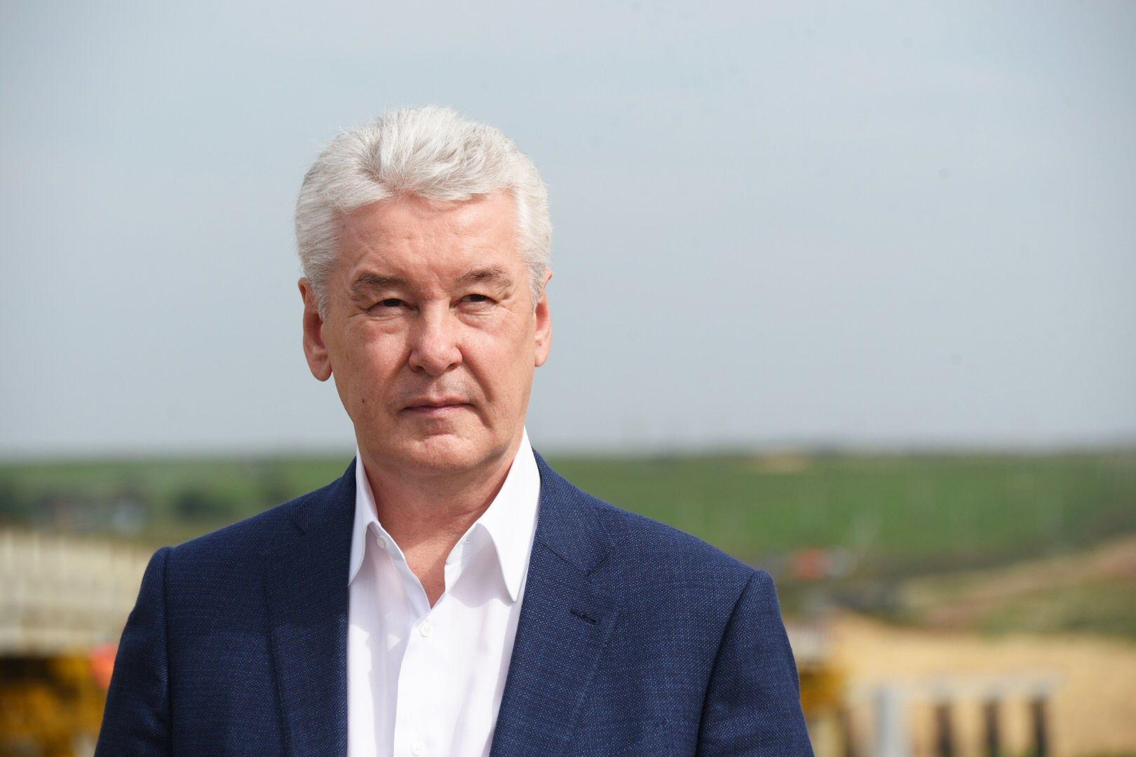 Сергей Собянин поучаствовал в открытии станции МЦД «Сетунь»