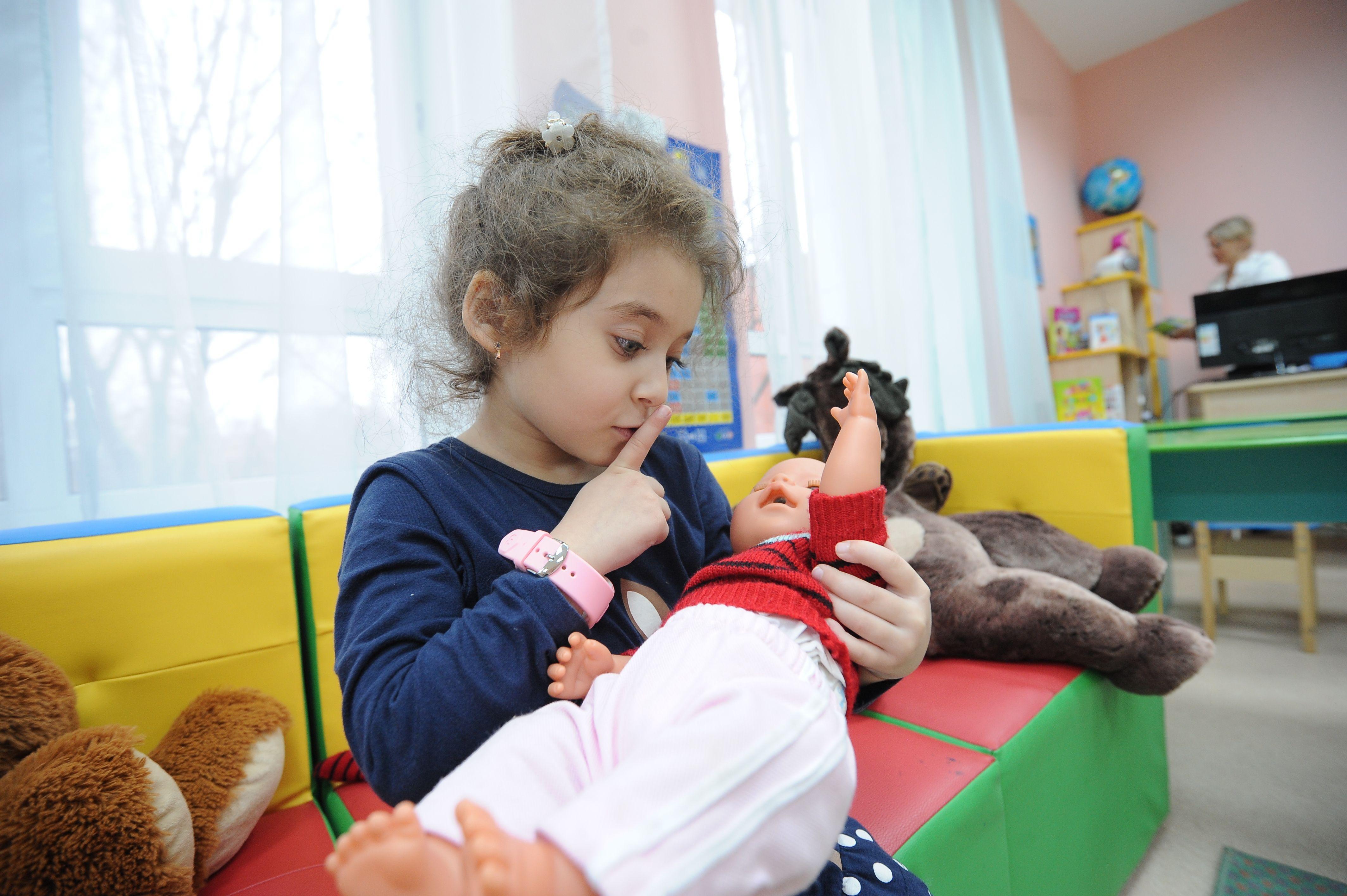 Московские детские сады возобновили работу в обычном режиме