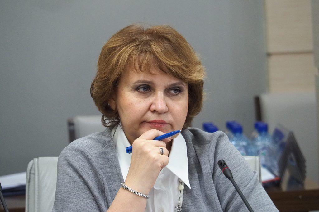 Председатель комиссии столичного парламента по экономической и социальной политике Людмила Гусева