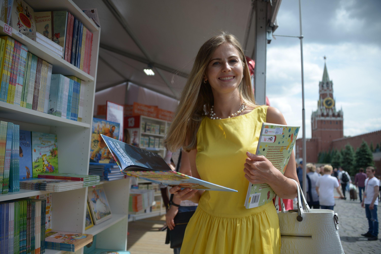 Участниками книжного фестиваля в Москве смогут стать не более 18 тысяч человек