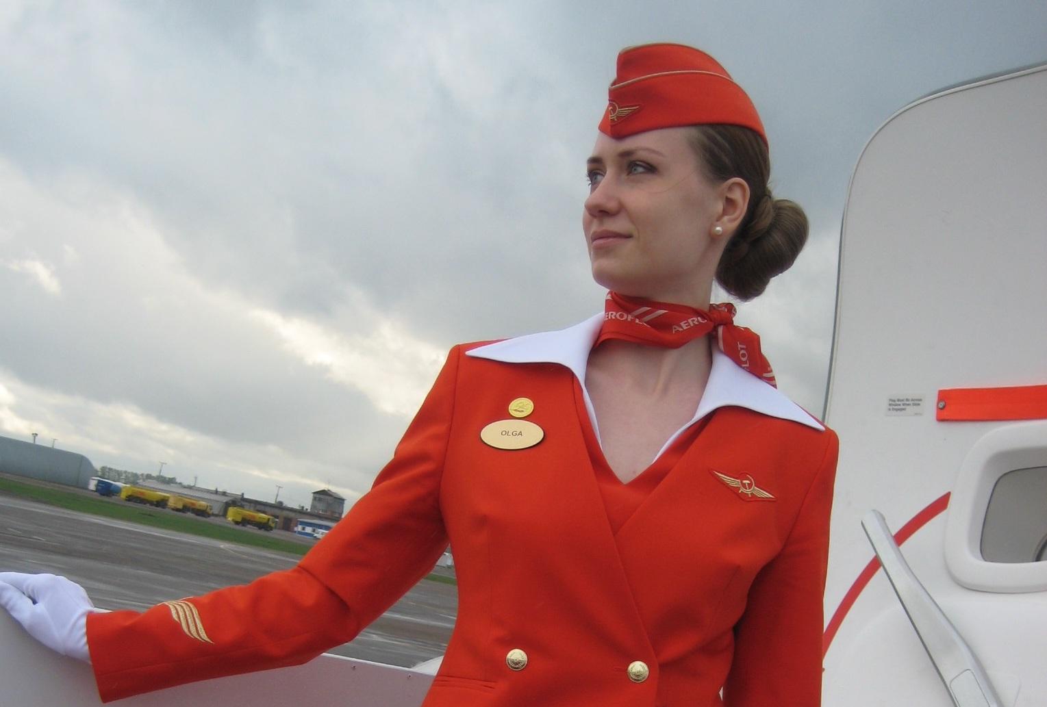 Стюардесса по имени Ольга