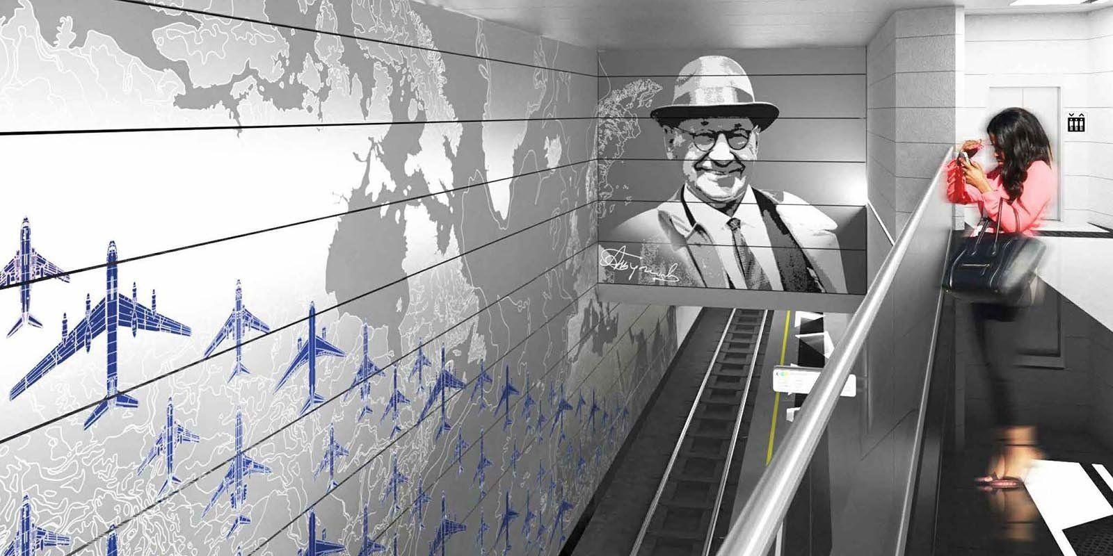 Станцию метро «Внуково» интегрируют в инфраструктуру аэропорта