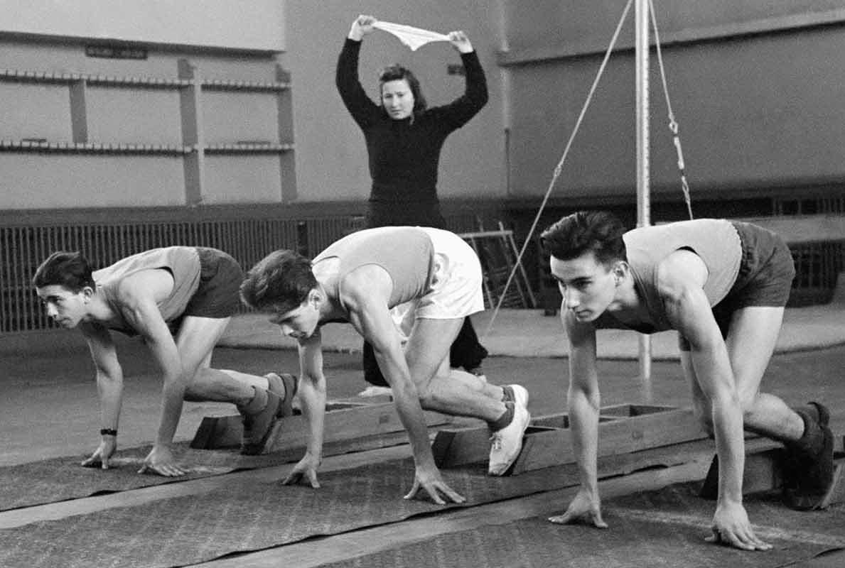 Спорт в СССР: виртуальную выставку Главархива пополнили новыми снимками