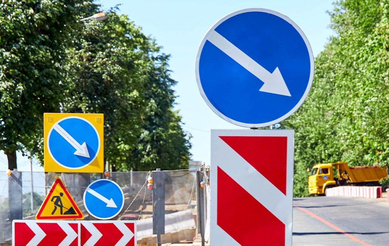 Движение по трем полосам проспекта Андропова ограничат