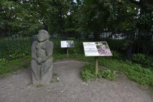 Маршрут включает в себя знакомство с 10 достопримечательностями, в том числе со скульптурой «Половецкая баба». Фото: Пелагия Замятина