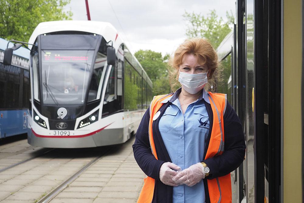 Новые «Витязи» вышли на трамвайные маршруты юга