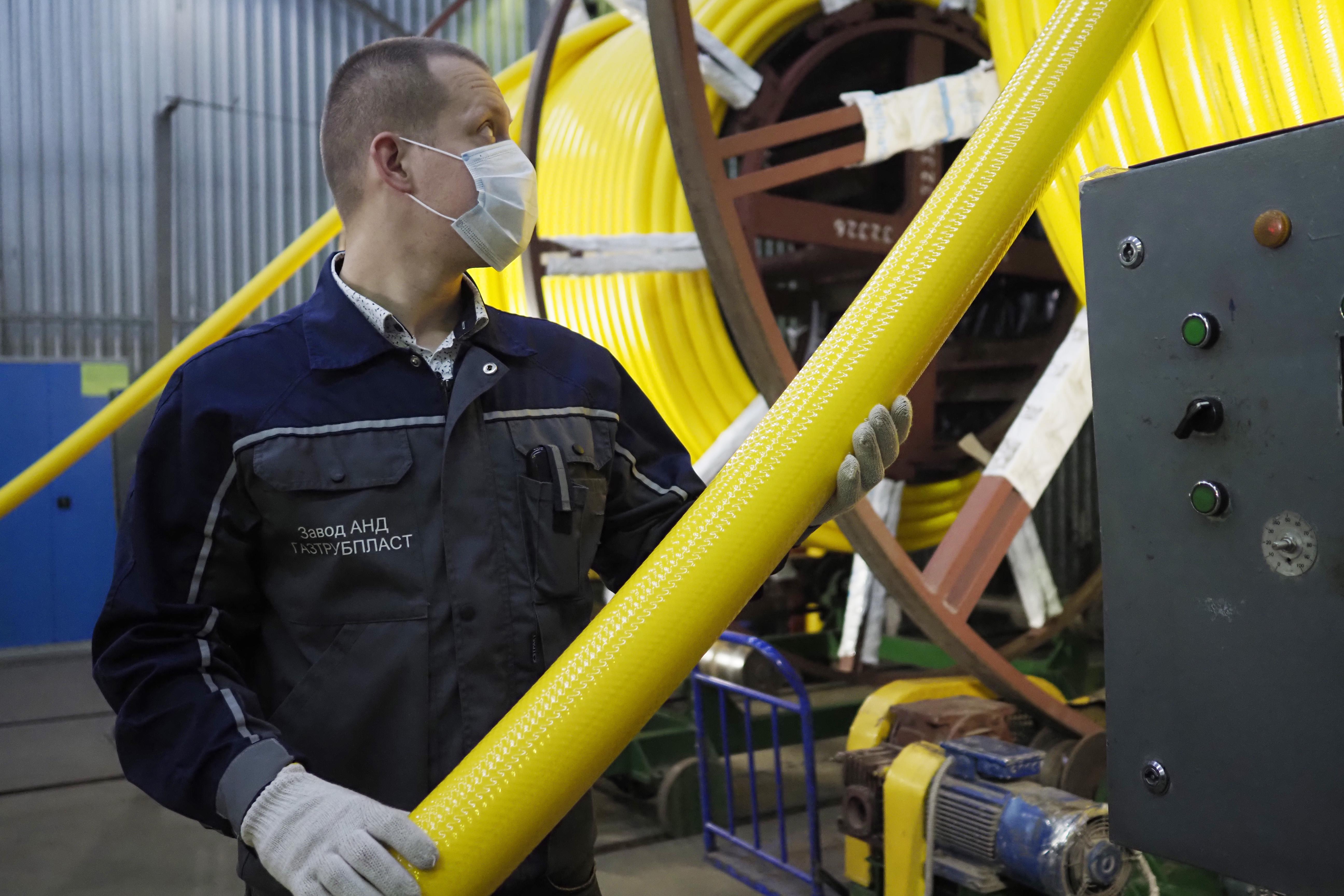 Трубопровод построят в Бирюлеве Западном