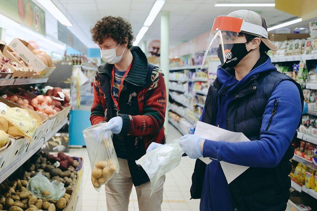 Магазин «Пятерочка» в ВАО закрыт из-за несоблюдения масочного режима. Фото: сайт мэра Москвы