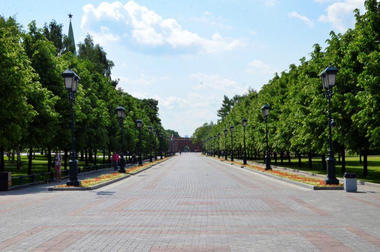 Депутат Мосгордумы Игорь Бускин отметил востребованность парковых территорий у москвичей. Фото: Анна Быкова