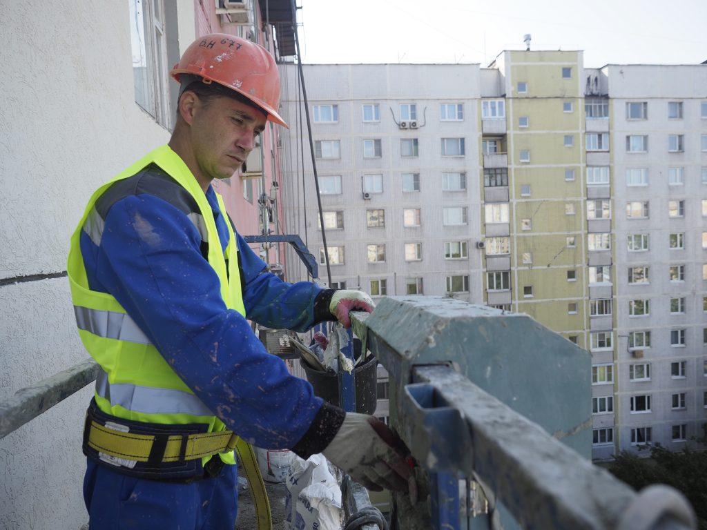 Фасады пяти домов обновят в Бирюлеве Восточном. Фото: Антон Гердо, «Вечерняя Москва»