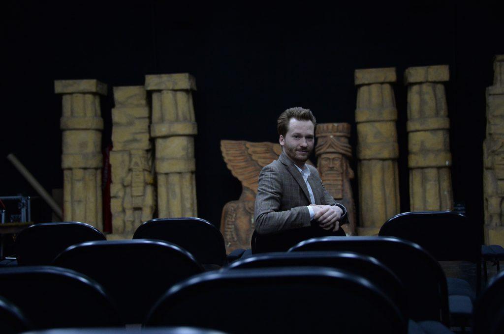 25 июня 2020 года. Айвар Левенбук, директор Московского еврейского театра «Шалом», который пять лет назад закрылся на ремонт, уверен, что зрителям придется по душе новая концепция учреждения