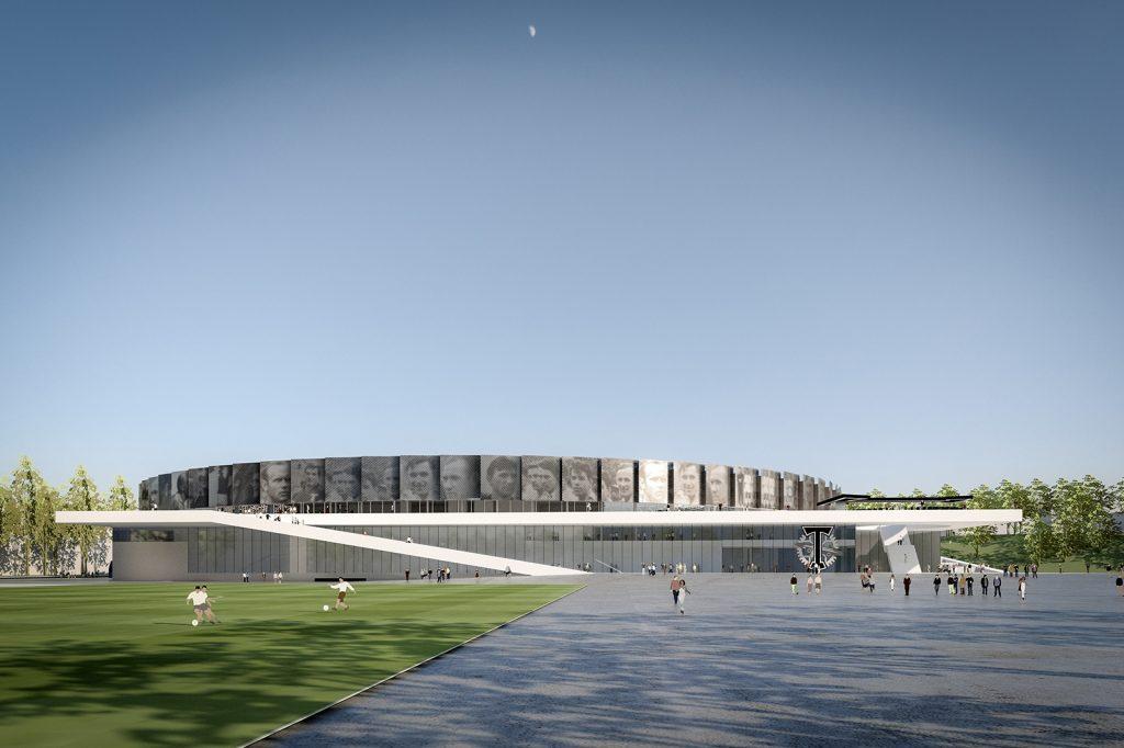 Проект стадиона. Фото: сайт столичного Комплекса градостроительной политики и строительства