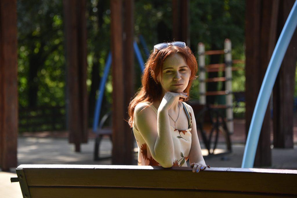 Студентка Анастасия Белоусова тоже часто проводит здесь время — готовится к лекциям.Фото: Пелагия Замятина