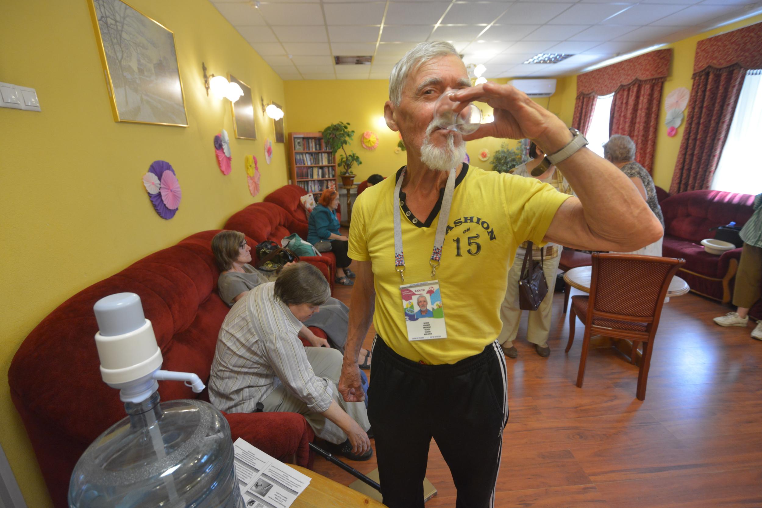 Комнаты прохлады заработали в московских центрах соцобслуживания