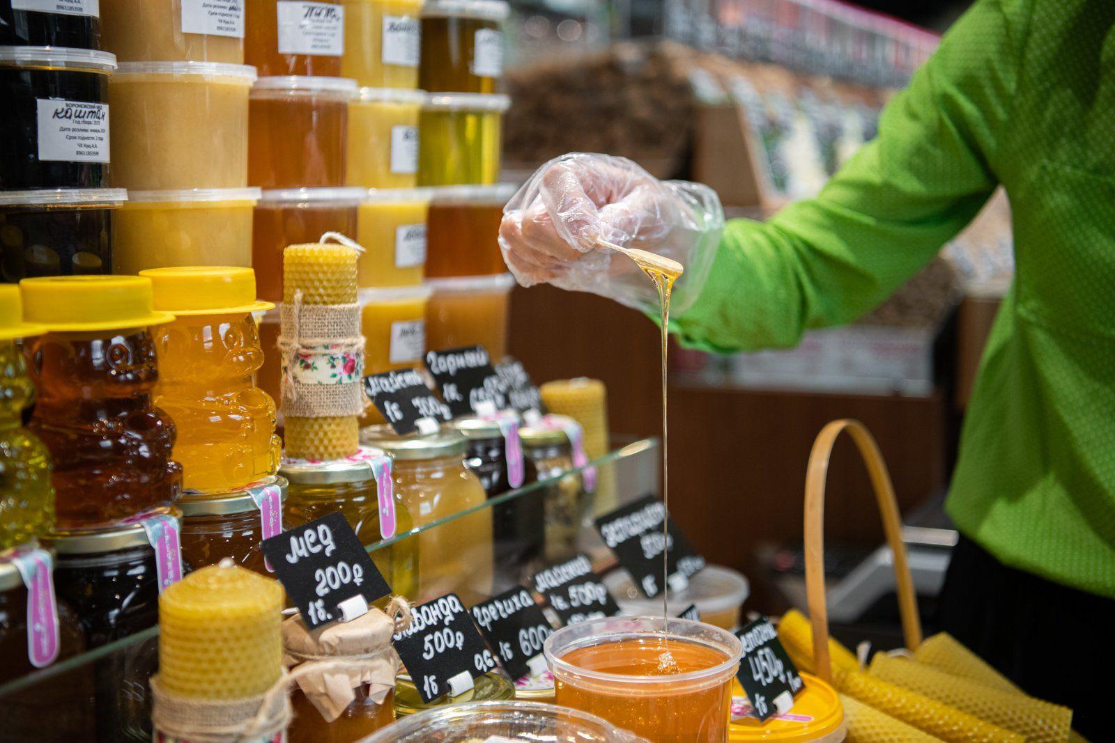 Более 50 сортов меда представят на ярмарке в «Коломенском»