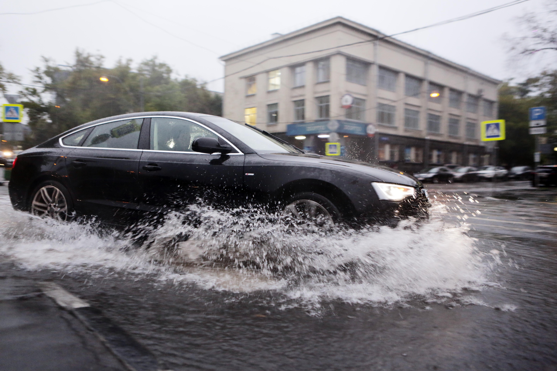 Рекордные осадки ожидаются в Москве