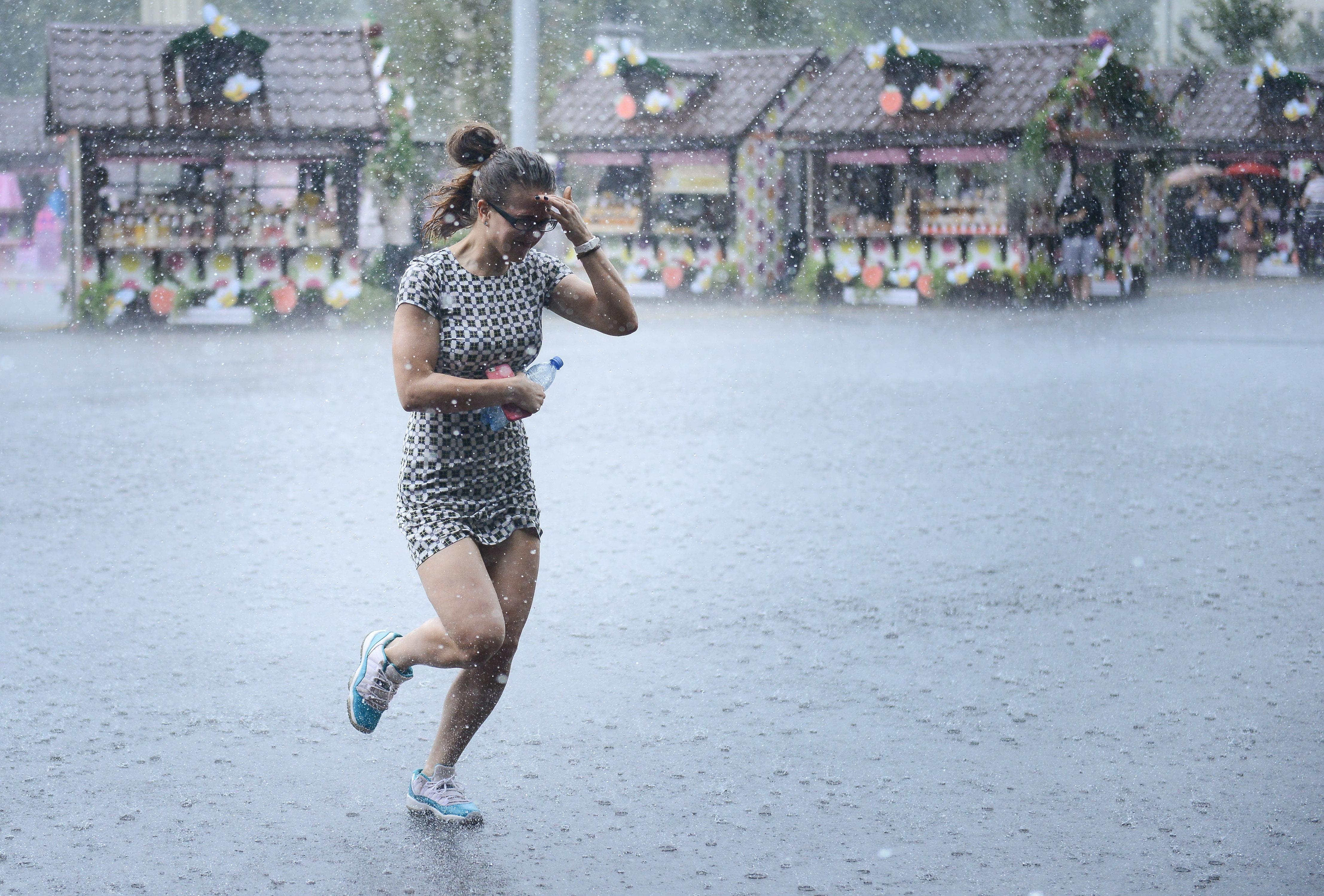 Циклонический вихрь обрушится на Москву в выходные
