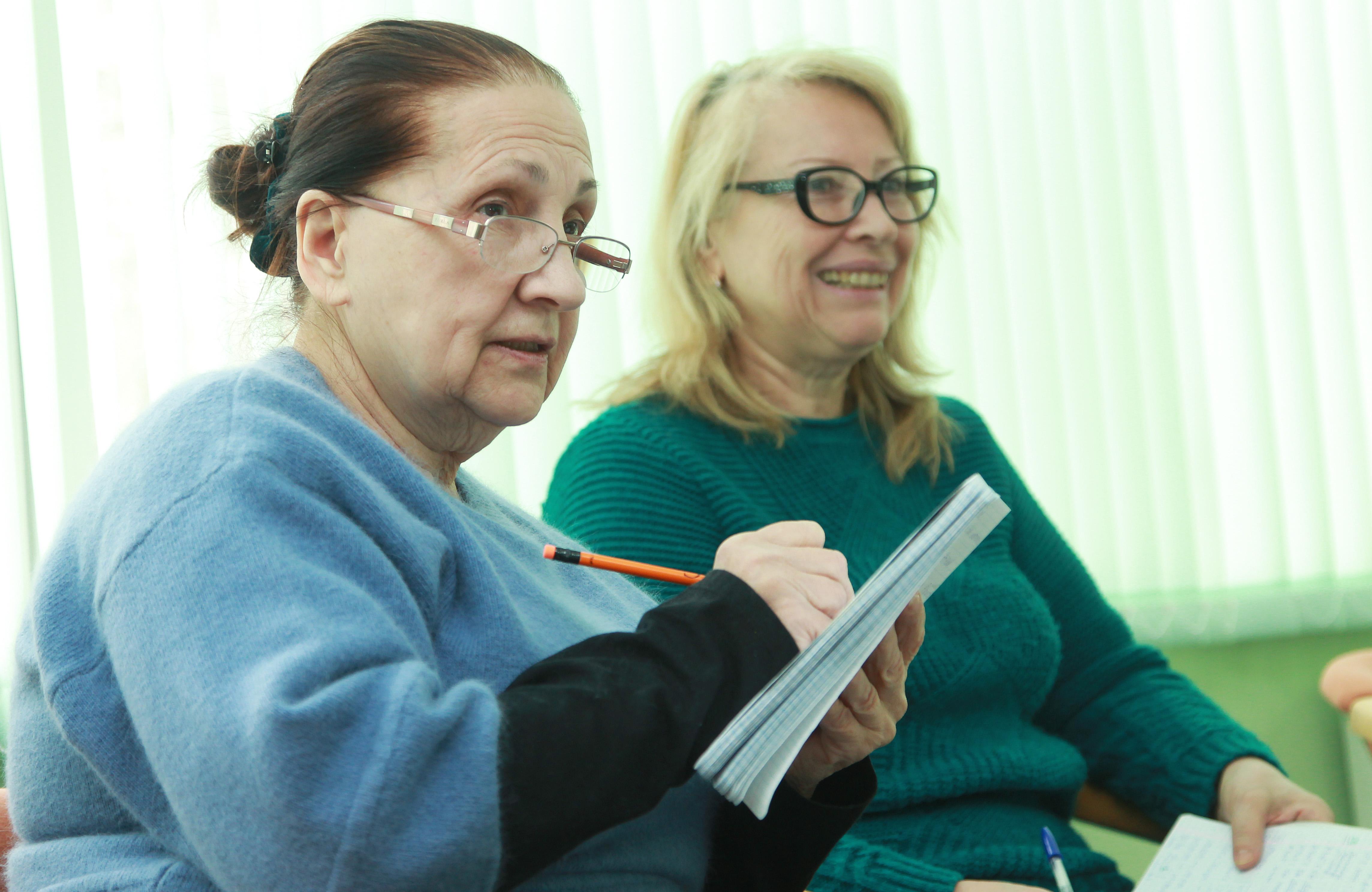 Занятия «Московского долголетия» в онлайн-формате стартовали в «Нагорной»