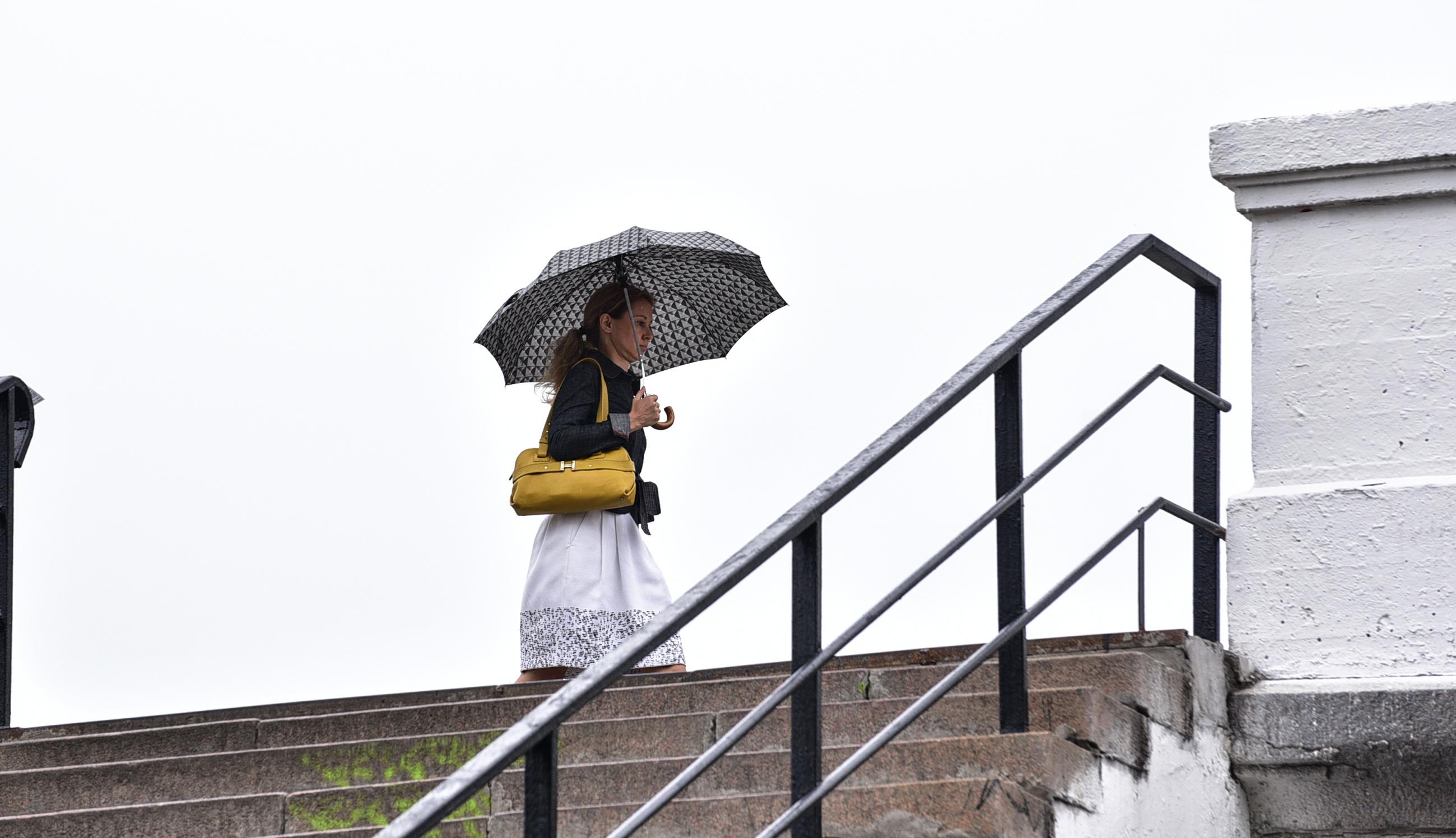 Москвичам пообещали небольшой дождь в четверг