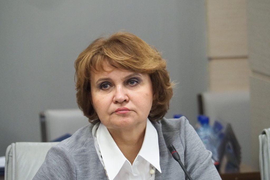 Председатель комиссии парламента Москвы по экономической и социальной политике Людмила Гусева