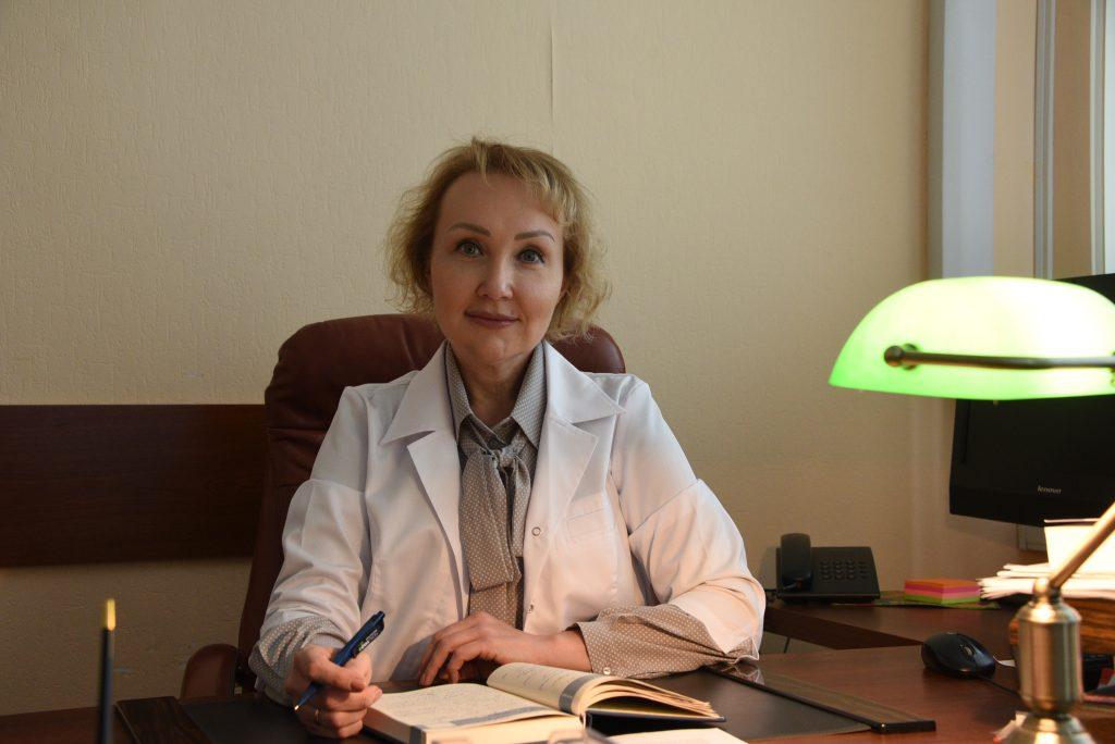 Депутат Московской городской Думы, главный врач городской поликлиники № 3 Елена Самышина