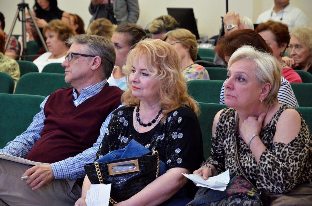Встречи участников киноклуба возобновили в Социальном центре Святителя Тихона. Фото: Анна Быкова