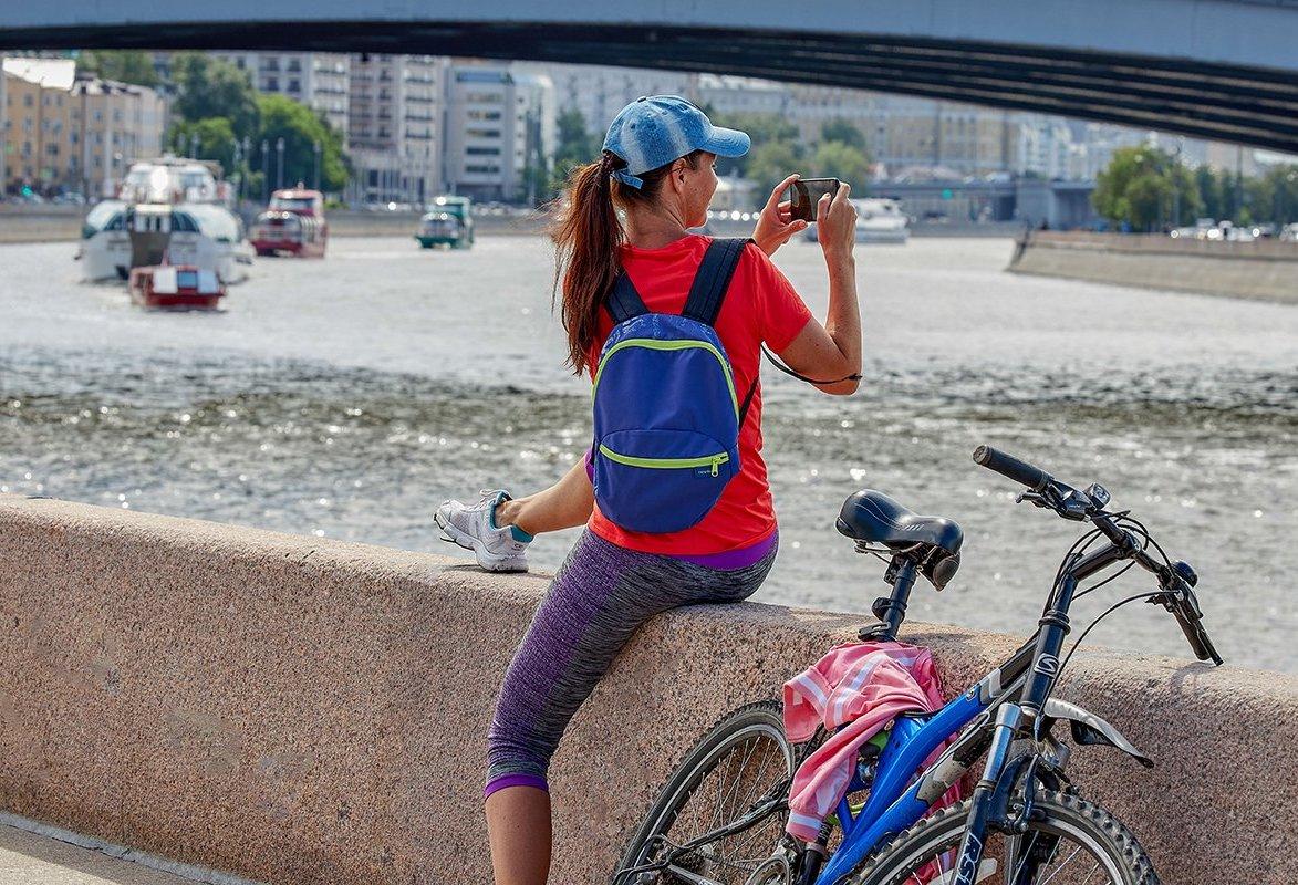 Москвичам рассказали об удобных столичных велодорожках