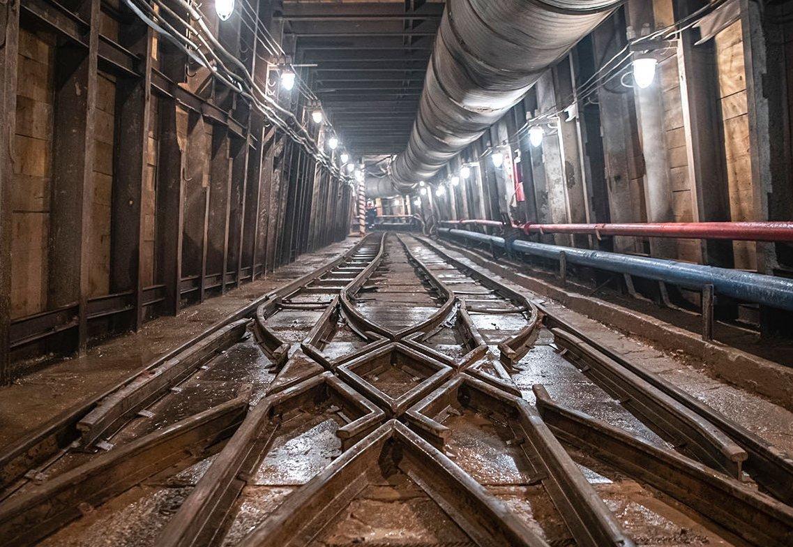 Строительство станции «Электрозаводская» БКЛ метро завершат в этом году