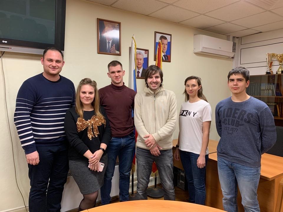 Молодые парламентарии Орехова-Борисова Южного проведут собрание