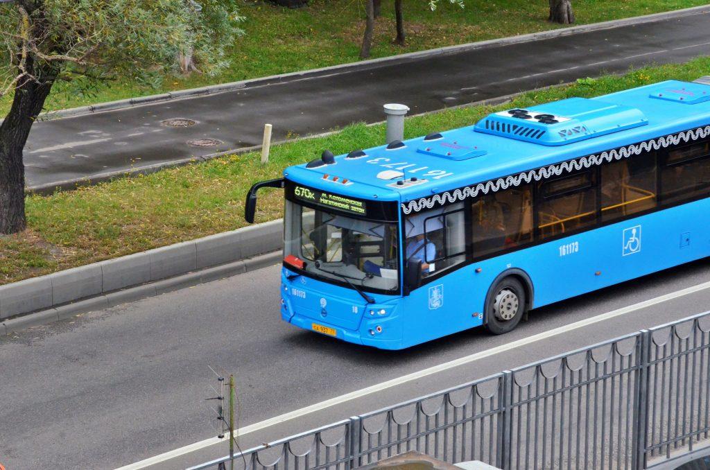 Автобусы вместо троллейбусов запустили на двух маршрутах юга. Фото: сайт мэра Москвы