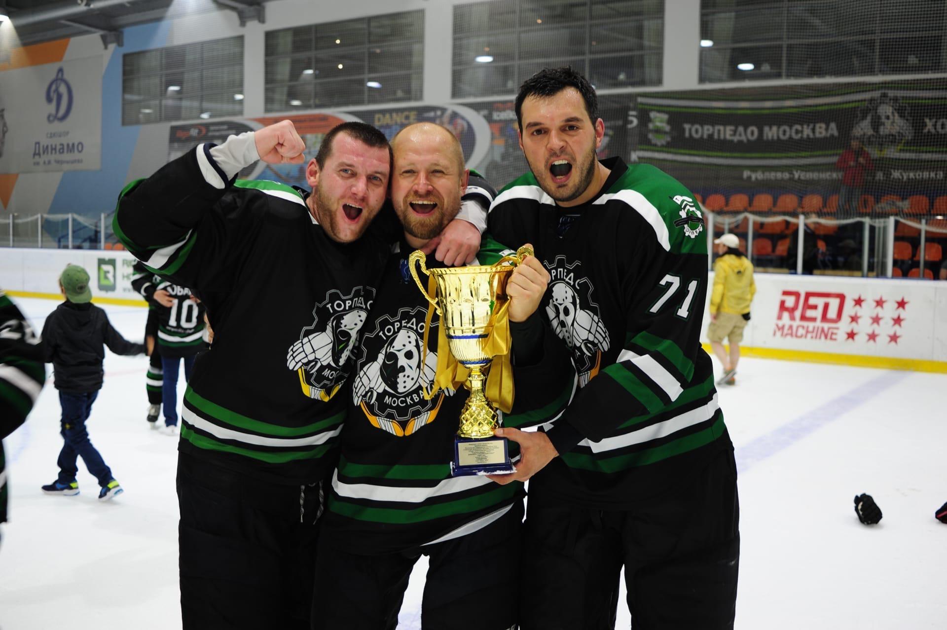 Хоккеисты «Торпедо» завоевали Кубок РТХЛ