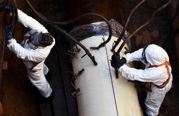 Газопровод рядом с метро «Технопарк» обновят