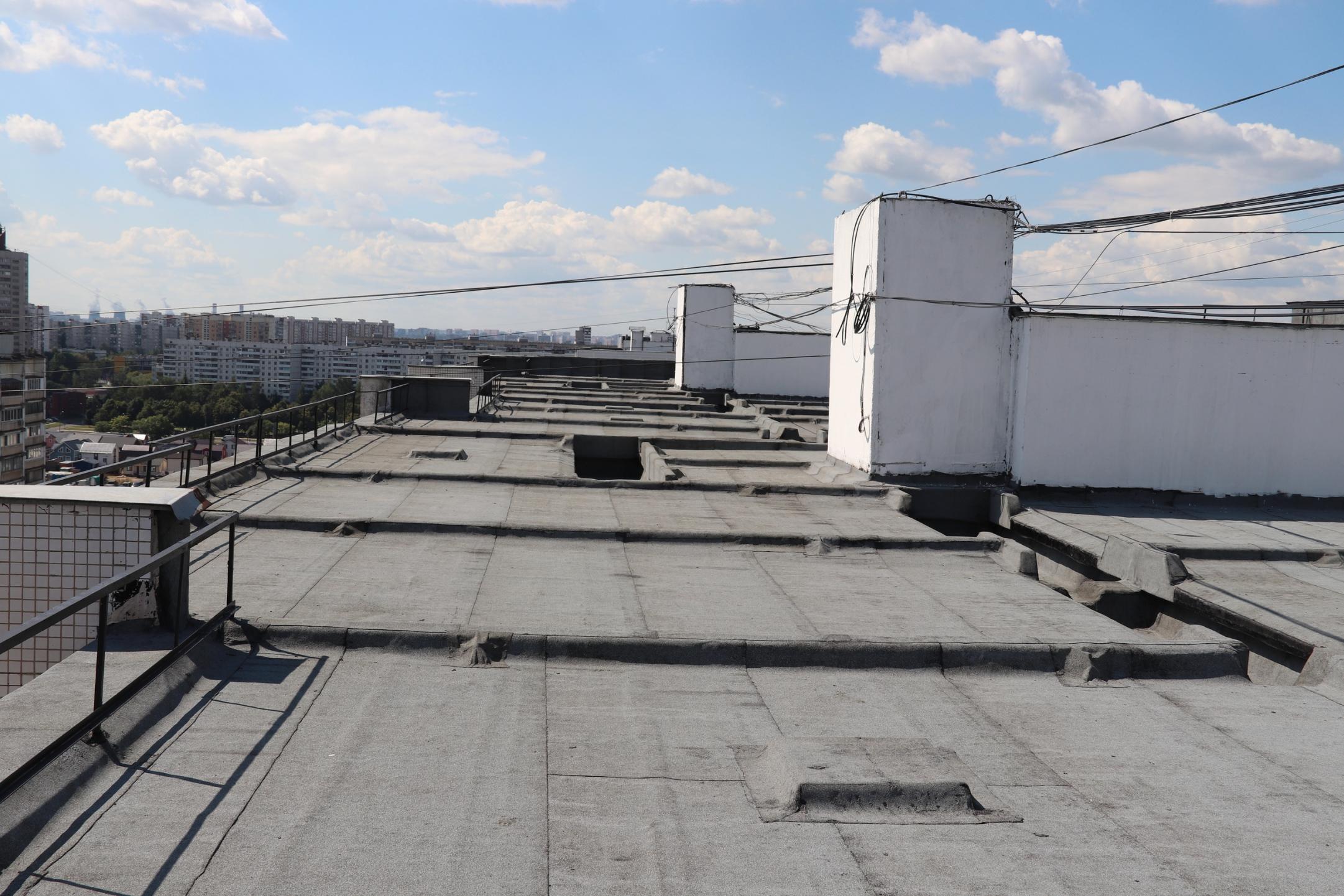 Крышу дома в Орехове-Борисове Южном проверили после капитального ремонта