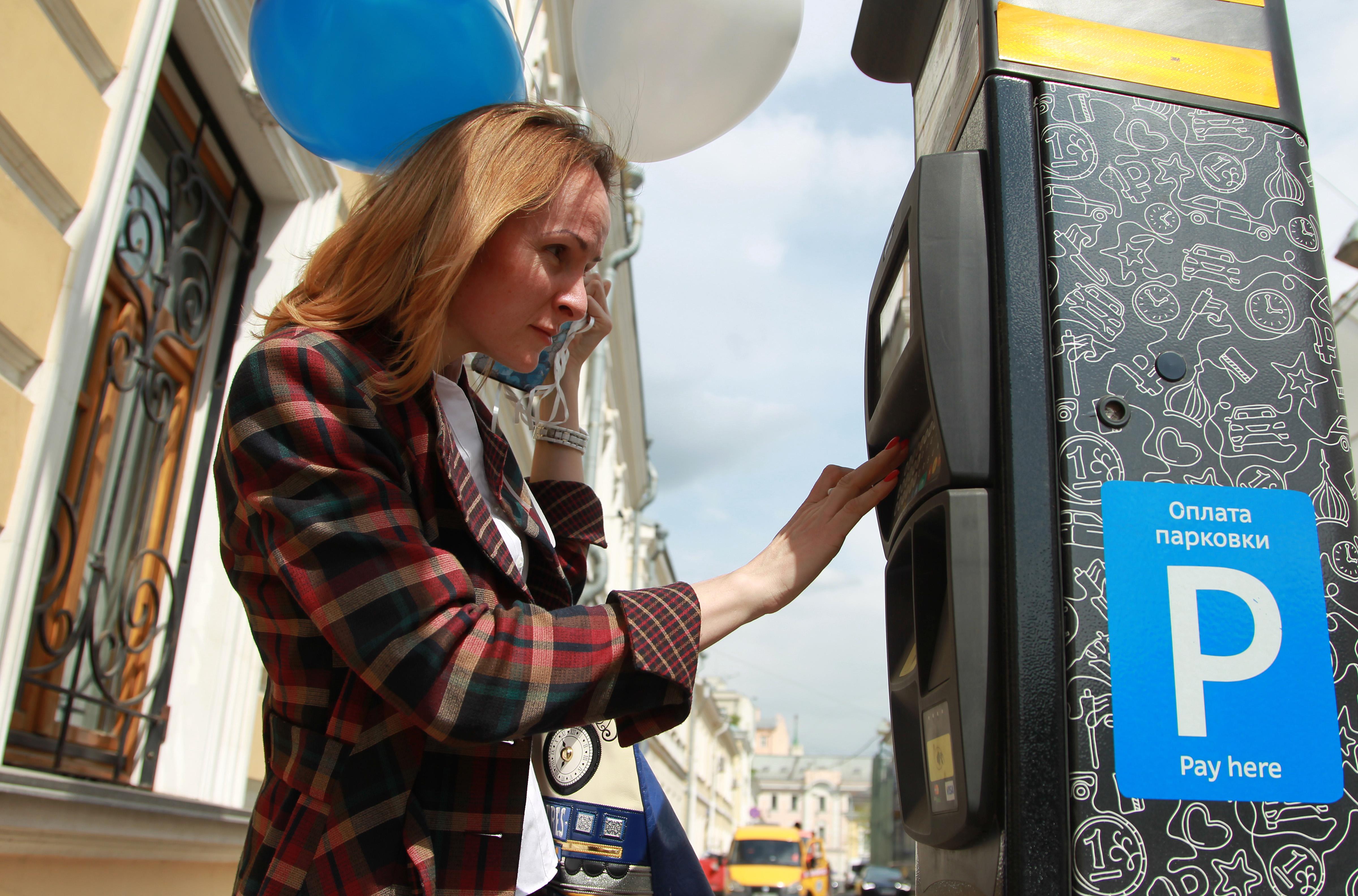 Время стоянки на парковках в Москве уменьшилось в среднем на восемь минут
